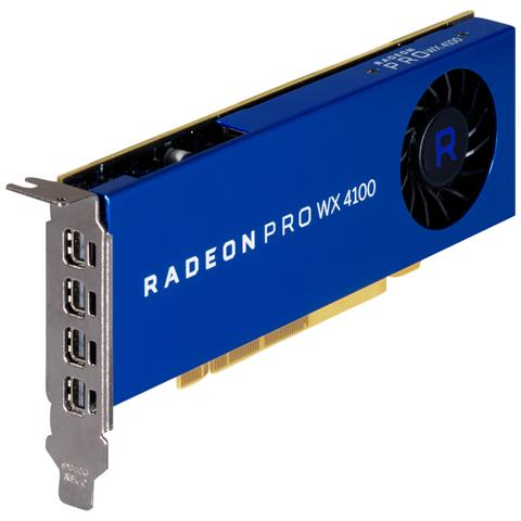 Image of Radeon WX 4100 Promo 4 GB GDDR5 4 x Mini DisplayPort