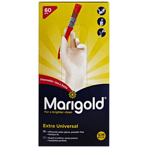 Tt6GNP Guanti X 60 Lattice Marigold Extra Universal S-m Giardinaggio