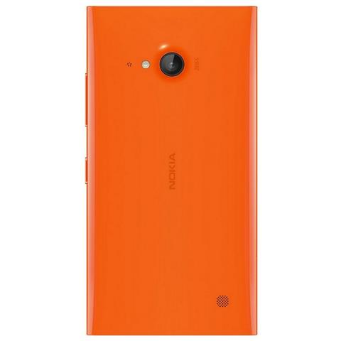 NOKIA Copri Batteria ricambio per Lumia 730 - Arancione