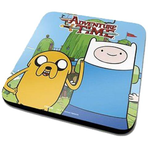 IMPORT Adventure Time - Finn & Jake (Sottobicchiere)