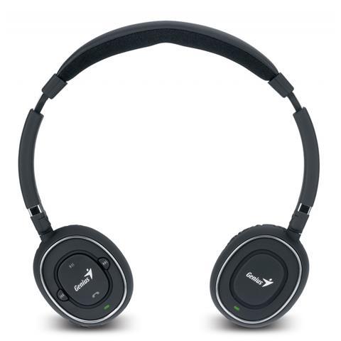 GENIUS HS-980BT, Stereofonico, Padiglione auricolare, Nero, Digitale, Bluetooth, Circumaurale