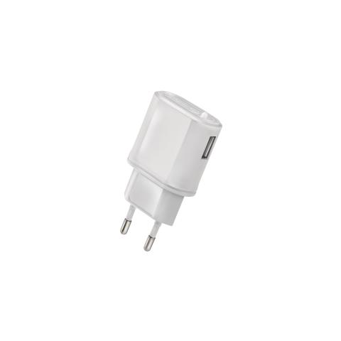 CELLY Caricabatteria da Viaggio USB - Bianco