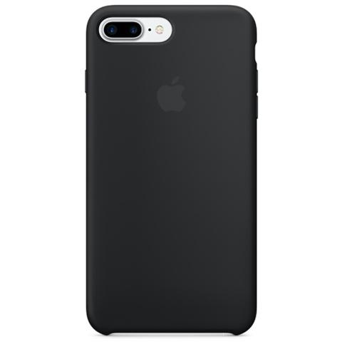 APPLE Cover in Silicone per iPhone 7 Plus - Nero