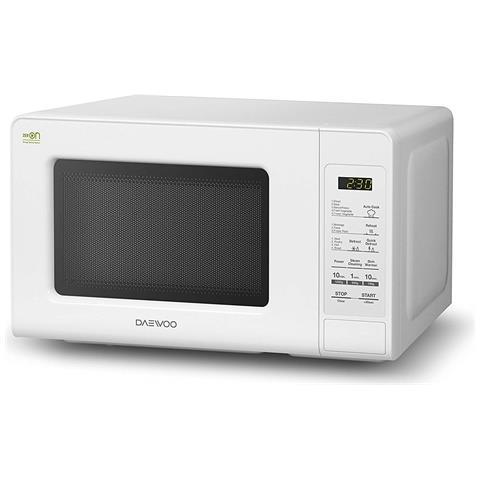 KOR-660B Forno Microonde con Grill Capacità 20 Litri Potenza 700 Watt Colore Bianco