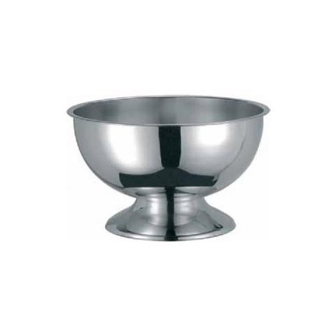Coppa Punch Aperitivo Poncera Spumantiera Champagne Cm 40 Acciaio Inox 18/10 Abert