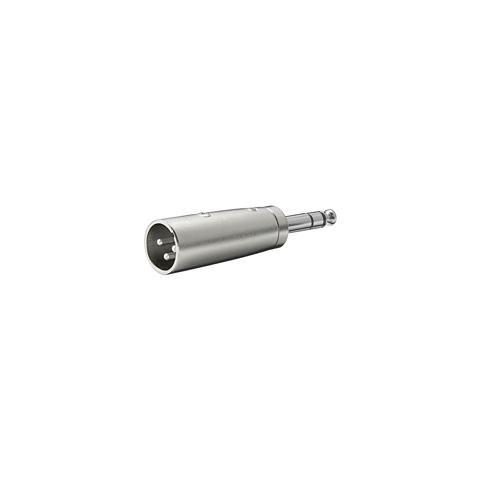 EMACHINE IADAP AU-XLR-515 - Adattatore XLR Cannon Maschio ad Audio 6,35mm Maschio Stereo