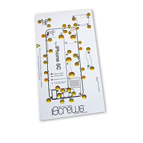 Dottor Pod iScrews Dima, Mappa per Viti e Supporto per Smontaggio e Riparazione iPhone 5C