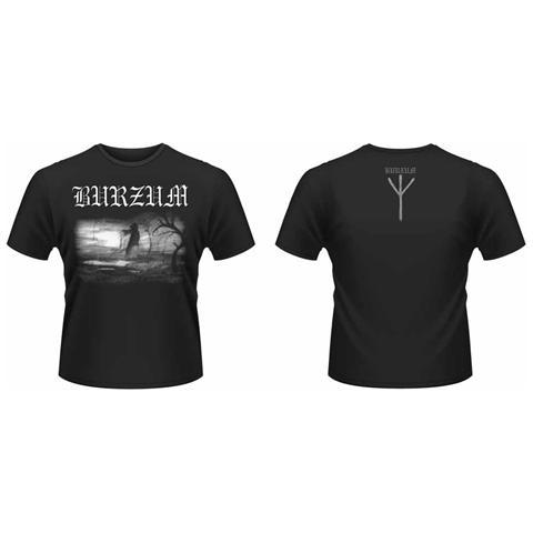PHM Burzum - Aske 2013 Front & Back Print (T-Shirt Unisex Tg. L)