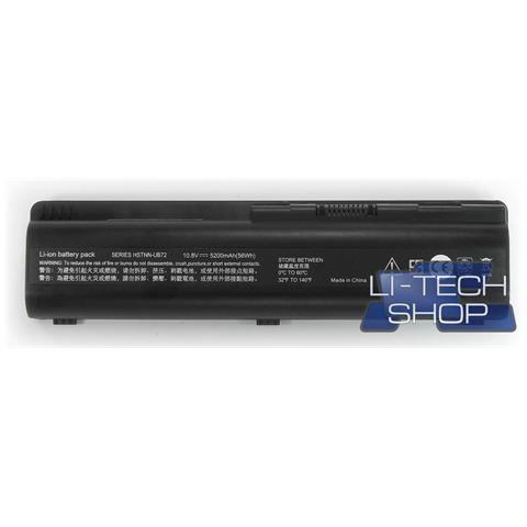 Image of Batteria Notebook compatibile 5200mAh per HP PAVILION DV62157EL nero 5.2Ah