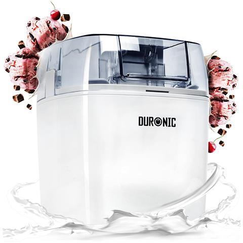 Im540 Macchina Per Gelati Gelatiera Ad Accumulo Sorbetti Frozen Yogurt Gelatiera Domestica Dessert Gelato Artigianale Fatto In Casa Con Timer 1.5 L Facile Da Pulire 30w