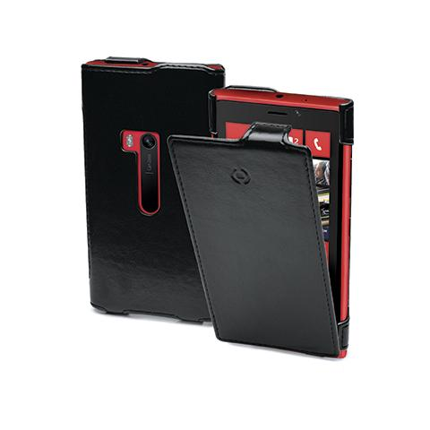 CELLY vertical leather case lumia 920 black