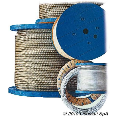 Cavo inox 133 fili 2,5 mm