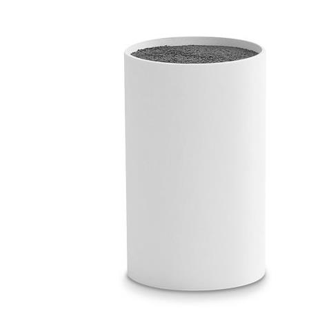 Ceppo portacoltelli vuoto colore bianco