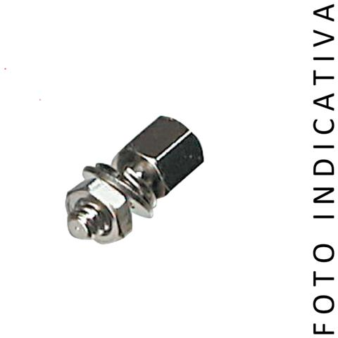 C-Industries KIT TORRETTE ESAGONALI M / F PER D-SUB UNC 4/40 - L. 7mm