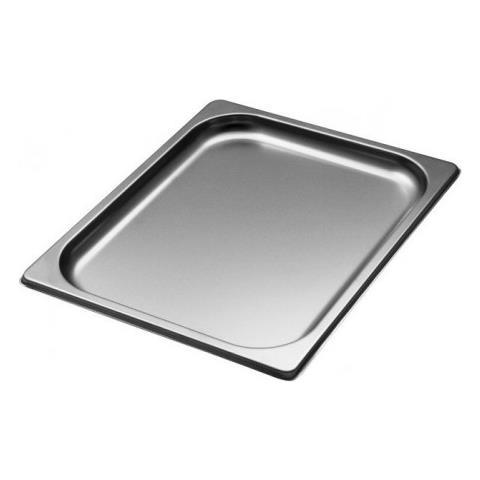 Teglia Gastronorm Gn Da Forno 1/2 H 20mm Cm 32,5x26,5x2 Acciaio Inox 18/10 Abert