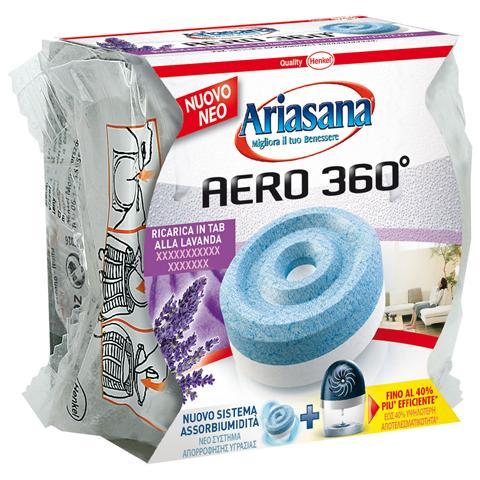 HENKEL Ariasana Aero 360° Ricarica Tab 450g Lavanda