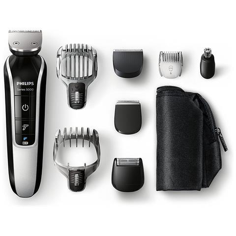 PHILIPS QG3371/16 Multigroom Kit Professionale Colore Nero / Silver