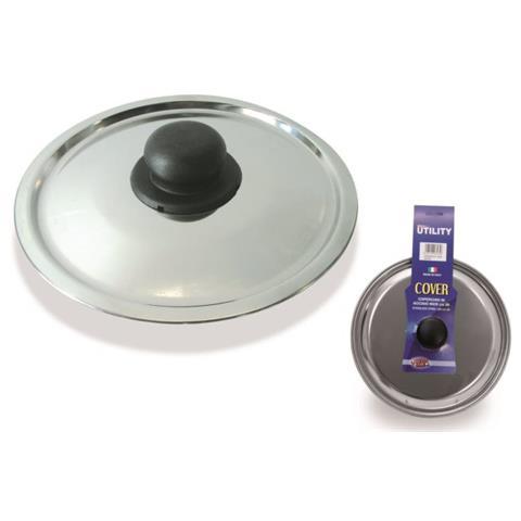 Coperchio in Acciaio Inox Diametro 24 cm