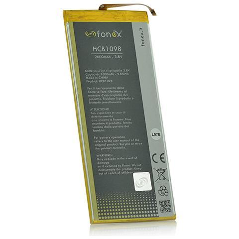 FONEX Batteria Li-Ion High Capacity 2600 mAh per Huawei P8