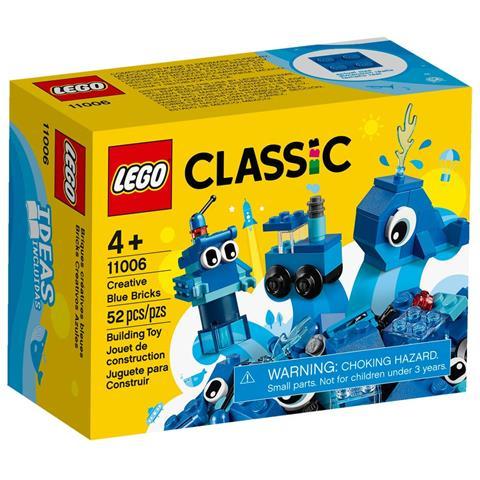 LEGO 11006 - Classic Mattoncini Blu Creativi