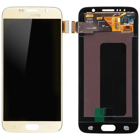 MICROSPAREPARTS MOBILE MSPP70774 Display Oro 1pezzo (i) ricambio per cellulare