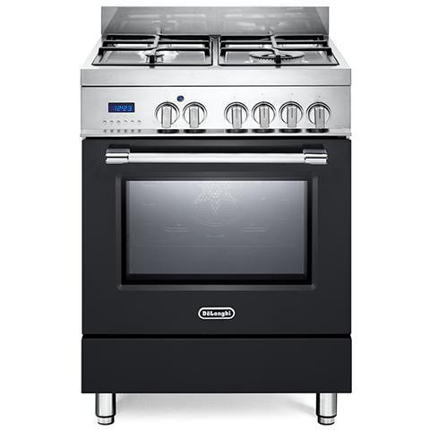 Cucina Elettrica PRO66MA 4 Fuochi a Gas Forno Elettrico Ventilato Dimensione 60 x 60 cm Co...