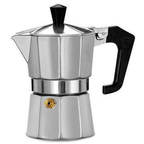 Macchina Per Caffè Caffettiera Moka Italiana 1 Tazza Italexpress Alluminio Tz 01