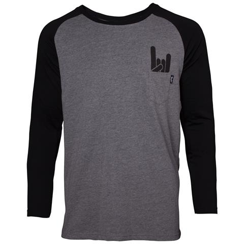 BIOWORLD Fender - Chest Pocket Black (Maglia Manica Lunga Unisex Tg. M)