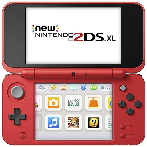 Image of Console New 2DS XL Poké Ball Limited Edition