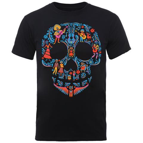 PHM Disney - Coco Skull Pattern (T-Shirt Unisex Tg. S)