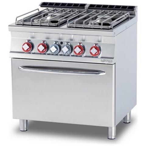 Cucina A Gas Professionale Afp / Cf4-78gp