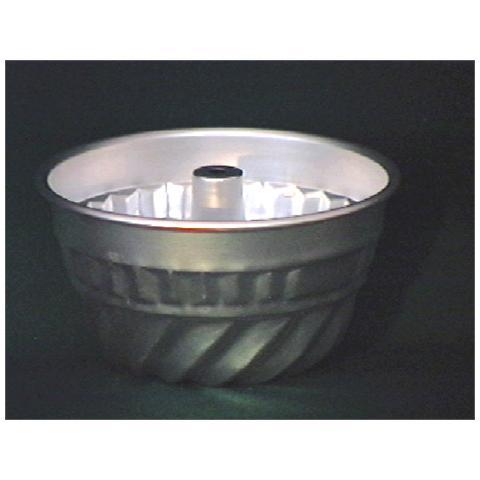 Ottinetti Stampo Alluminio Americano Festonato Con Tubo 20 Attrezzi Pasticceria