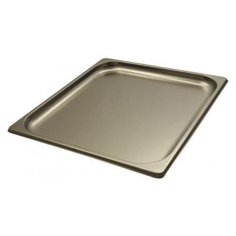 Teglia Gastronorm Gn Da Forno 2/3 H 20mm Cm 32,5x35,5x2 Acciaio Inox 18/10 Abert