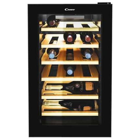 Cantinetta Vino CWCEL210 Capacità 21 Bottiglie Classe B Colore Nero