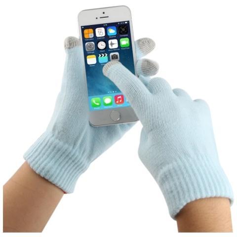 Network Shop Guanti Touch Screen Per Smartphone E Tablet Azzurro