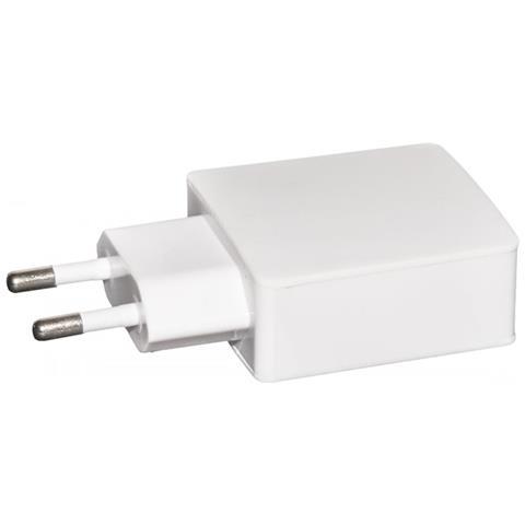 LINK Caricatore Universale Da Rete Con Presa Usb 5 Volt 2 Ampere Colore Bianco