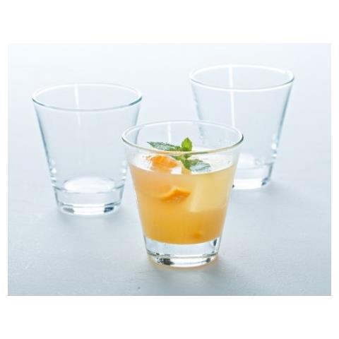Ciao 6 Bicchieri In Vetro Trasparente