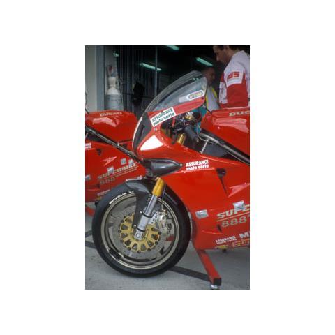 Cupolino Racing Ermax Per 851/888 91/96 Superbike Trasparente