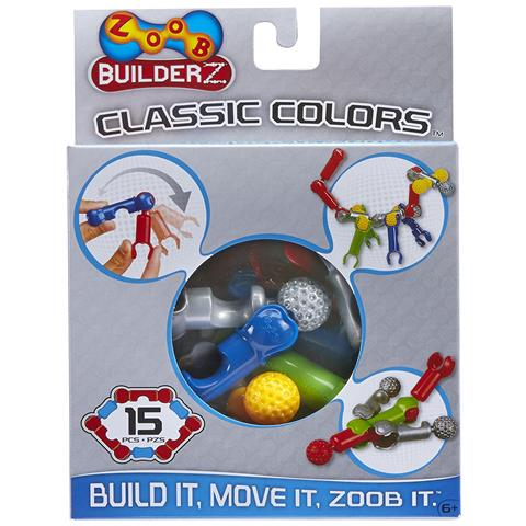 Zoob Builderz 15 Piece Classic Colors