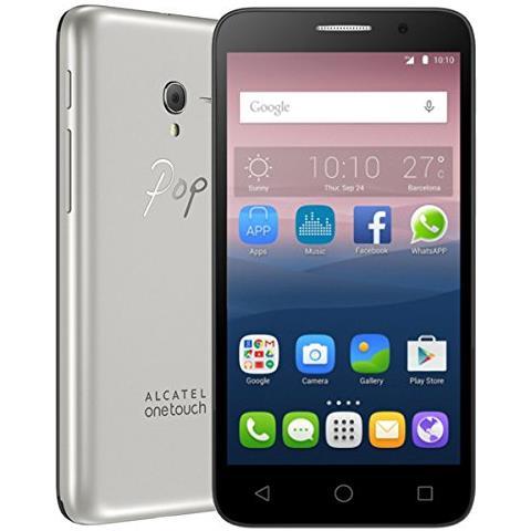 Pop 3 Argento 8 GB Dual Sim Display 5.5'' HD Slot Micro SD Fotocamera 5 Mpx Android