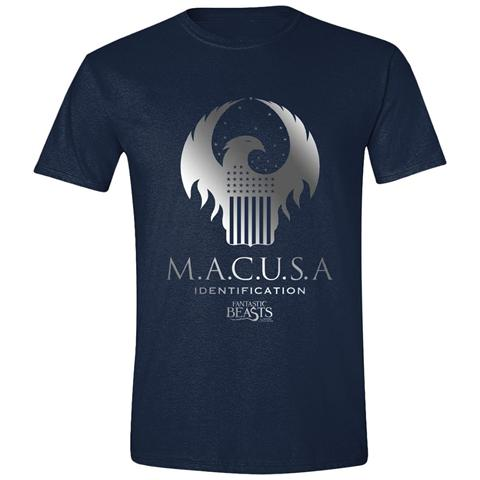 TimeCity Fantastic Beasts And Where To Find Them - Macusa Logo (T-Shirt Unisex Tg. M)