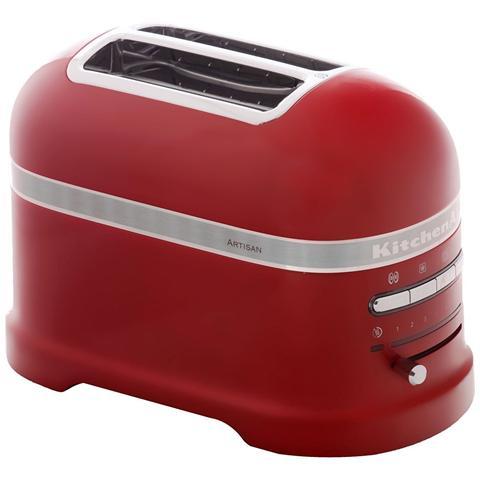KMT2204R Tostapane a 2 Scomparti Potenza 1250 Watt Colore Rosso imperiale