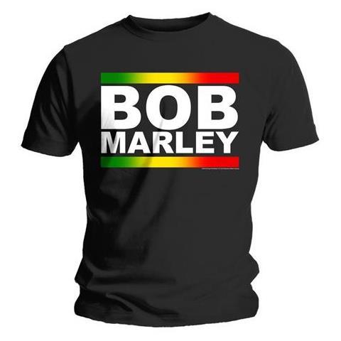 ROCK OFF Bob Marley - Rasta Band Block (T-Shirt Unisex Tg. L)