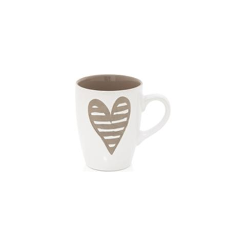 Mug Batticuore Tortora Stoneware