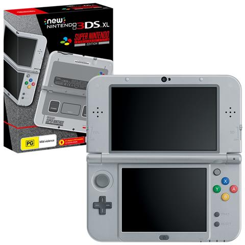 Image of New 3DS XL SNES LImited Edition