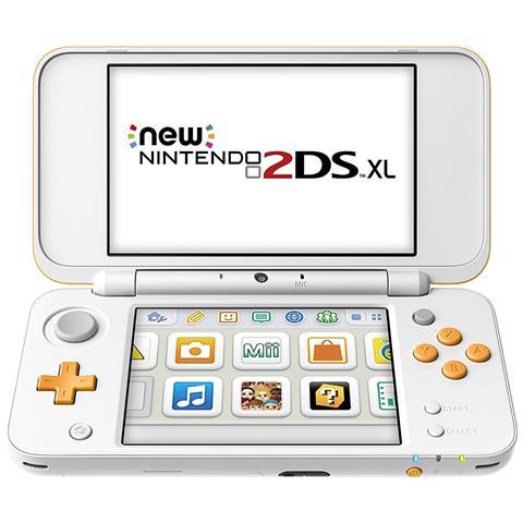 NINTENDO [Ricondizionato GOLD] Console New 2DS XL Bianco / Arancione