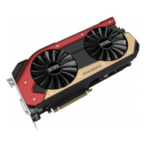 Image of Nvidia GeForce GTX 1070 Ti 8 GB GDDR5 Pci-E 1 x DVI-D / 3 x DisplayPort / 1 x HDMI