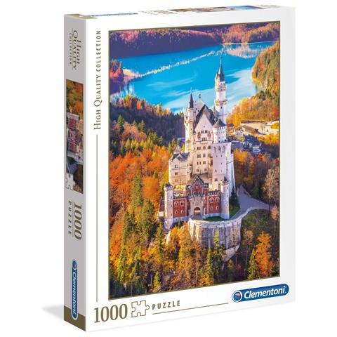 CLEMENTONI CLM39382 Puzzle da 1000 Pezzi - Neuschwanstein