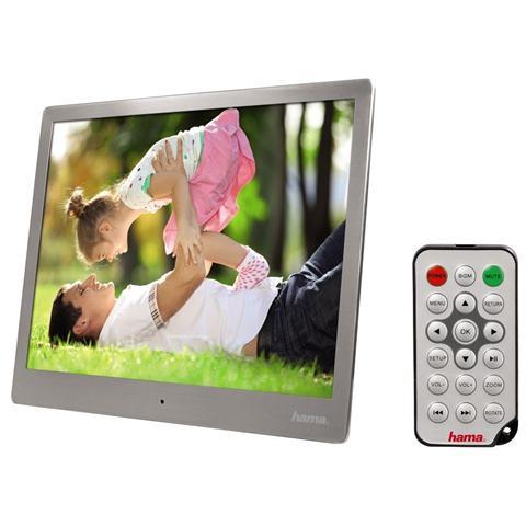 Cornice Digitale Multimediale ''Steel'' Premium 9.7'' 4GB SD / SDHC / MMC MiniUSB con Tele...