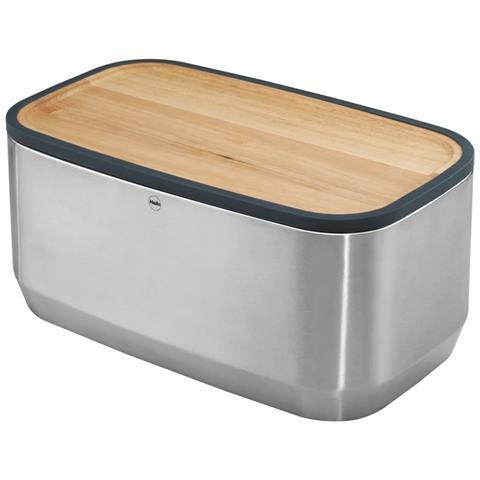 Portapane Kitchenline Design Con Tagliere Acciaio Inossidabile 0833-950